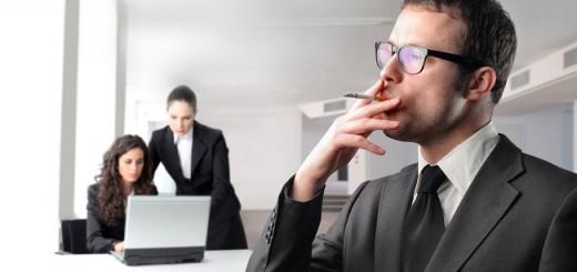 курение на работе